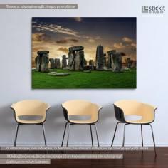 Stonehenge, πίνακας σε καμβά