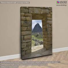 Machu Picchu, πίνακας σε καμβά