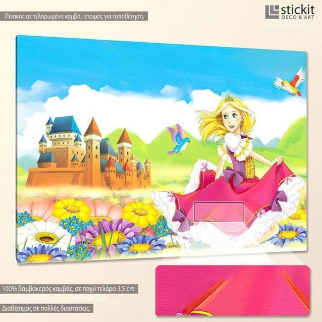 The fairy, πίνακας σε καμβά