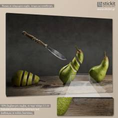 Pear art, πίνακας σε καμβά