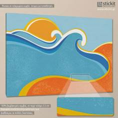 Sea and sand, πίνακας σε καμβά