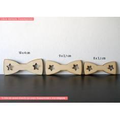 Παπιγιόν, ξύλινο σχέδιο διακοσμητικό