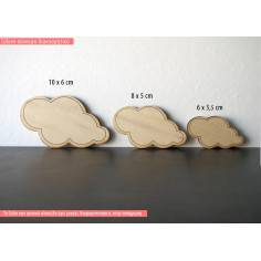 Συννεφάκι, ξύλινη φιγούρα διακοσμητική