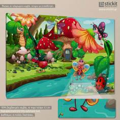 Bug life, παιδικός - βρεφικός πίνακας σε καμβά