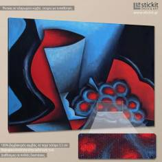 Grapes abstract, πίνακας σε καμβά