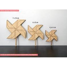 Ανεμόμυλος, ξύλινη φιγούρα διακοσμητική