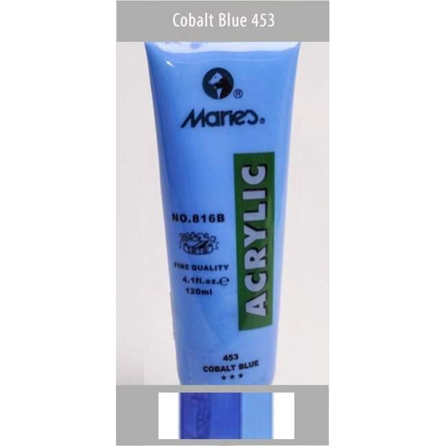 Ακρυλικό χρώμα, Μπλε (Cobalt blue) 453