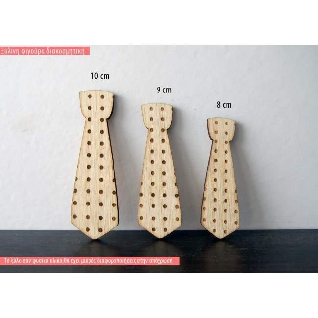 Γραβάτα, ξύλινη φιγούρα διακοσμητική