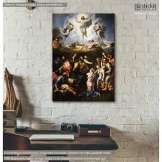 Transfiguration, Raphael, αντίγραφο - αναπαραγωγή πίνακα σε καμβά