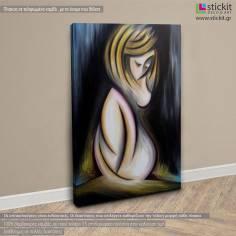 Birth of Venus, πίνακας σε καμβά κάθετος
