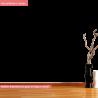 Το στρουμφοχωριό ( τυρκουάζ σπιτάκι ), αυτοκόλλητο τοίχου