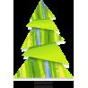 Μοντέρνο Χριστουγεννιάτικο δέντρο