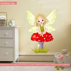 Baby Fairy, αυτοκόλλητο τοίχου παιδικό με νεραϊδούλα