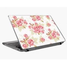 Pink roses, αυτοκόλλητο laptop με λουλούδια