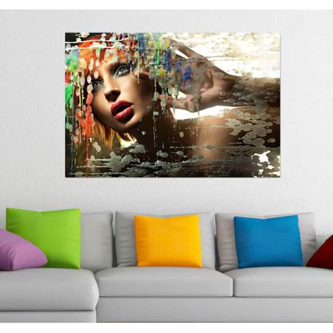 Colorfull passion, πίνακας σε καμβά