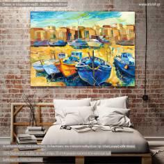 Wharf, πίνακας σε καμβά