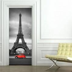 Αυτοκόλλητο πόρτας, Πύργος του Eiffel