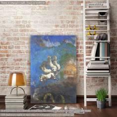 Chariot of Apollo, Odilon Redon, αντίγραφο - αναπαραγωγή πινακα σε καμβά