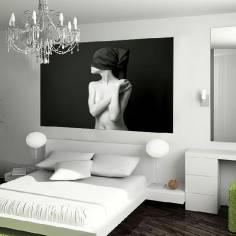 Γυναίκα με μαντήλι στα μάτια, ταπετσαρία τοίχου φωτογραφική