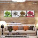 Πίνακας σε καμβά, Four seasons ΙΙ, πανοραμικός