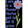 Love is a flower, αυτοκόλλητο τοίχου