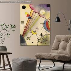 Πίνακας ζωγραφικής, Distinct connection, Kandinsky W., αντίγραφο σε καμβά