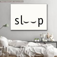 Sleep, πίνακας σε καμβά