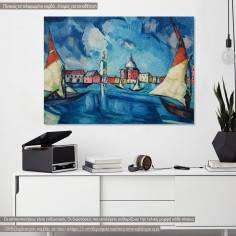 Venice by K. Mägi, αντίγραφο - αναπαραγωγή πίνακα σε καμβά