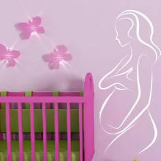 Εγκυμοσύνη Ι., Αυτοκόλλητο τοίχου