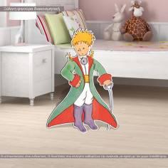 Petit prince, ξύλινη φιγούρα εκτυπωμένη μικρός πρίγκιπας