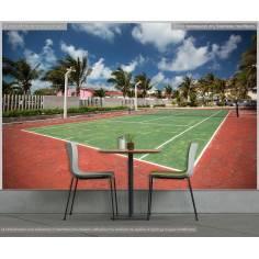 Γήπεδο τέννις, φωτογραφική ταπετσαρία