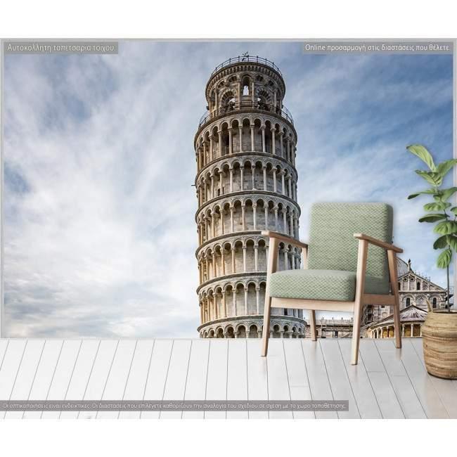 Ταπετσαρία τοίχου, Πύργος της Πίζας