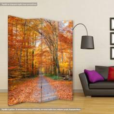 Παραβάν, Autumn path
