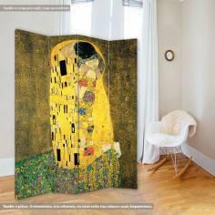 Παραβάν, The kiss, G. Klimt