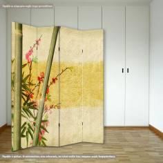 Παραβάν, Bamboo and cherries