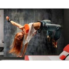 Ιπτάμενη χορεύτρια, φωτογραφική ταπετσαρία