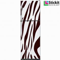 Tiger pattern, αυτοκόλλητο ψυγείου