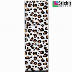 Leopard pattern, αυτοκόλλητο ψυγείου