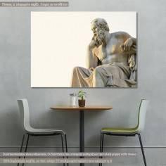 Σωκράτης, πίνακας σε καμβά