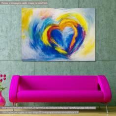 Heart, πίνακας σε καμβά