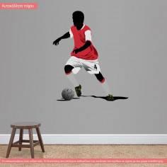 Αυτοκόλλητο τοίχου, Ποδοσφαιριστής IV