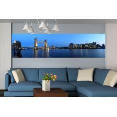 Πανόραμα Λονδίνου & tower bridge, Φωτογραφική ταπετσαρία