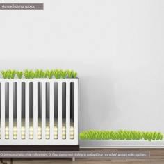 Αυτοκόλλητα τοίχου παιδικά, Γρασίδι