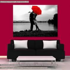 Πίνακας σε καμβά, Ζευγάρι, Romantic love