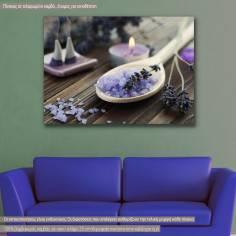 Πίνακας σε καμβά, Salts and herbs