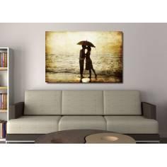 The secret kiss, πίνακας σε καμβά