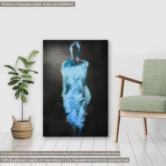 Πίνακας σε καμβά, Woman figure