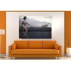 Πίνακας σε καμβά, Imagination or not?