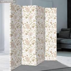 Παραβάν, Light floral pattern