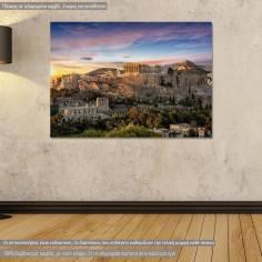 Πίνακας σε καμβά, Παρθενώνας, Parthenon view